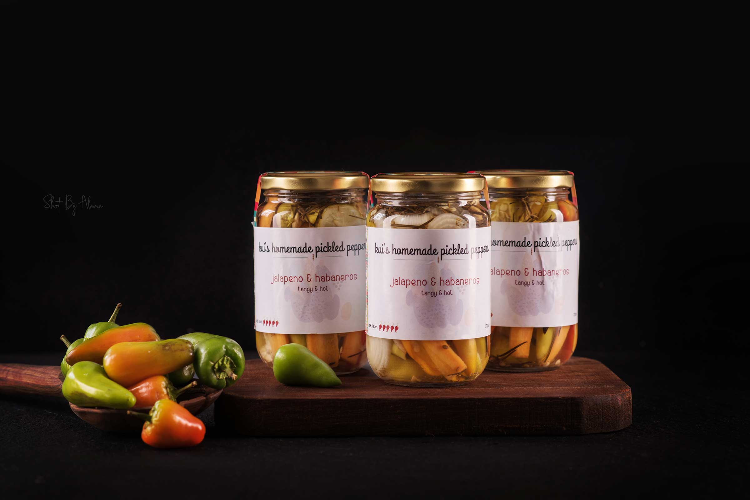 Kui's pickled Peppers